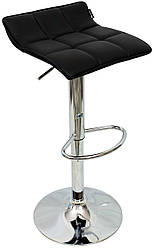 Високий стілець для макіяжу 516 Black