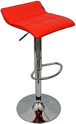 Високий стілець для макіяжу 516 Red