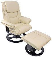Кресло для педикюра с массажем Bonro 5099 ваниль