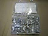 Набір алюмінієвих шайб 650шт. (М3-М22) (Rider) RD11650AK, фото 2