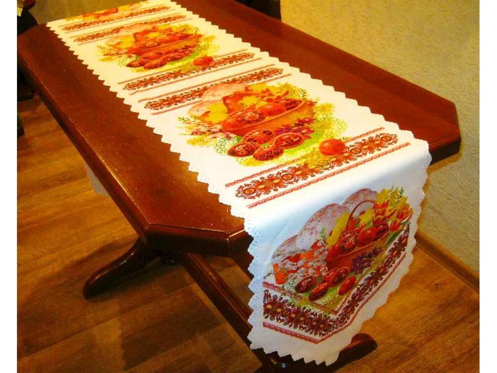 Доріжка на стіл великодня 36х210см, арт.19 ТМBELLO-PRINT