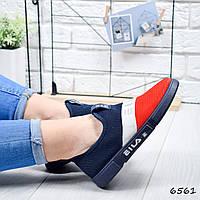 Кроссовки женские FS красный + синий 6561, фото 1