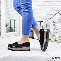 Туфли женские Neolina черные 6583, фото 1