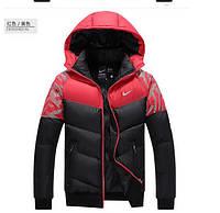 Мужская куртка пуховик Nike, разные цвета  МК-227-О