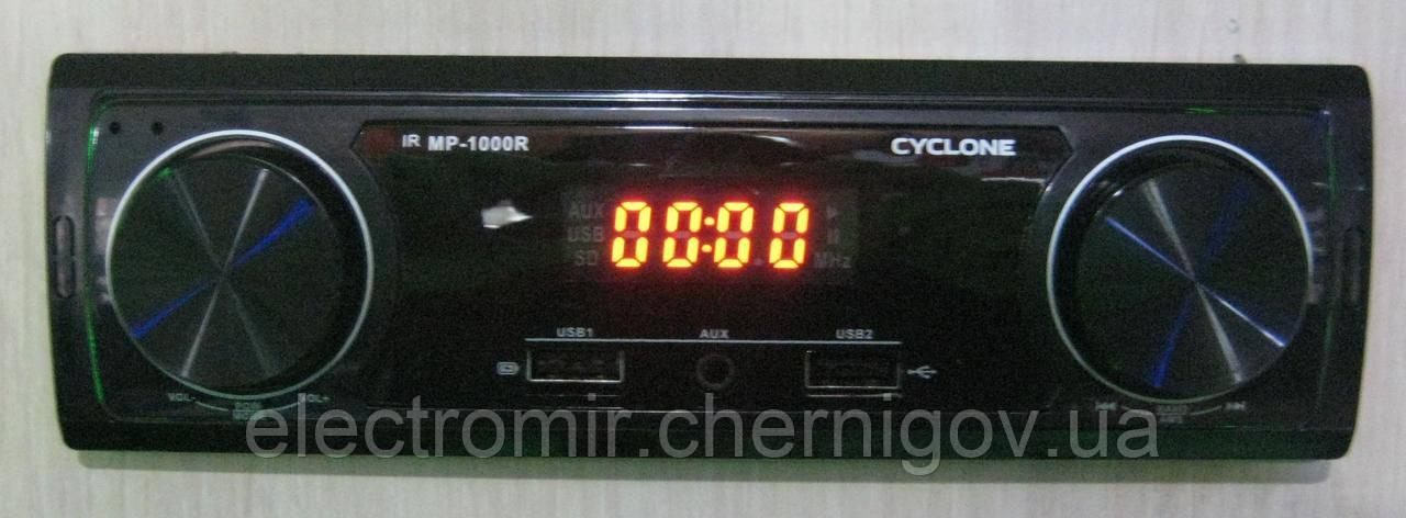 Автомагнитола Cyclon MP-1000 (USB зарядка)