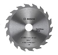 Диск циркулярный Bosch 190x20/16x24 Optiline ECO