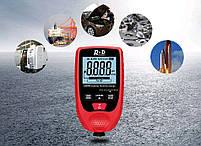 GM998 red толщиномер краски, Fe/NFe, до 1500 мкм, фото 2