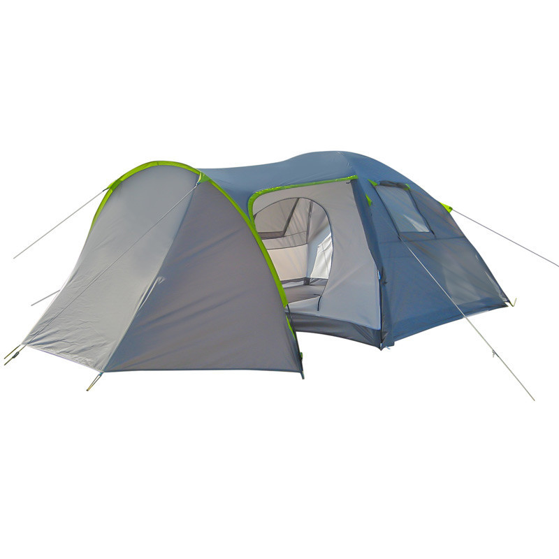 Палатка 4-х местная GreenCamp 1009 2 входа