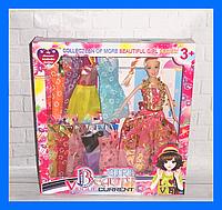 Кукла с нарядами, кукла с одеждой
