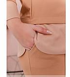 Костюм женский батал с кофтой и брюками, фото 4