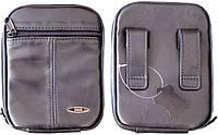 Кобура-сумка Медан 1404 поясная кожаная для ношения оружия