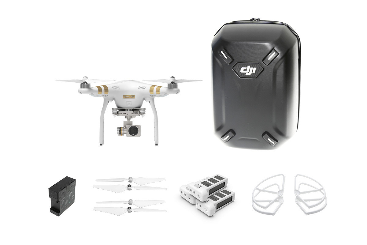 Квадрокоптер DJI Phantom 3 Professional Kit 1