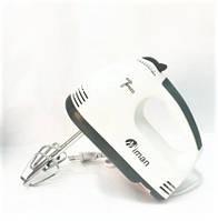✅ Подарок Бабушке, Маме, Жене 🚚 БЕСПЛАТНАЯ ДОСТАВКА! Ручной миксер Miman 180 Вт | AG460065