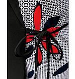 Нарядный костюм-двойка большого размера №4106-1-черный, фото 4