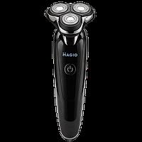 Електробритва MAGIO MG-687, кількість бріючих елементів: 3, сухе/вологе гоління, висувний тріммер Magio MG-687