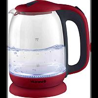 Чайник електричний стекло (1,7 л; 2кВт; LED-подсветка) ViLgrand VL4172GK
