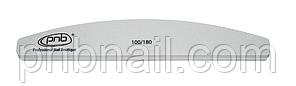 Баф для ногтей PNB 100/180 Grey,  полукруг