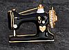 Швейная машинка значок брошь брошка эмаль черная металл отличное качество, фото 6