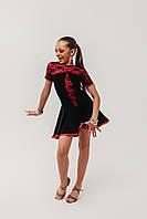 Платье для тренировок и выступлений по бальным танцам «Ключик»