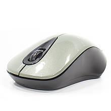 Мышь iMICE E-2370 беспроводная компьютерная USB 1600 DPI 3 кнопки + scroll 2.4Ghz Черный с серым (3236-9365)