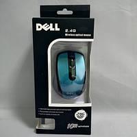 Беспроводная компьютерная мышка Dell 2.4G мышь Синяя (OI-0224)