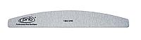 Пилка для ногтей PNB 180/240 Grey, полукруг