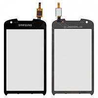 Сенсорный экран (touchscreen) для Samsung Galaxy Xcover 2 S7710, черный, оригинал
