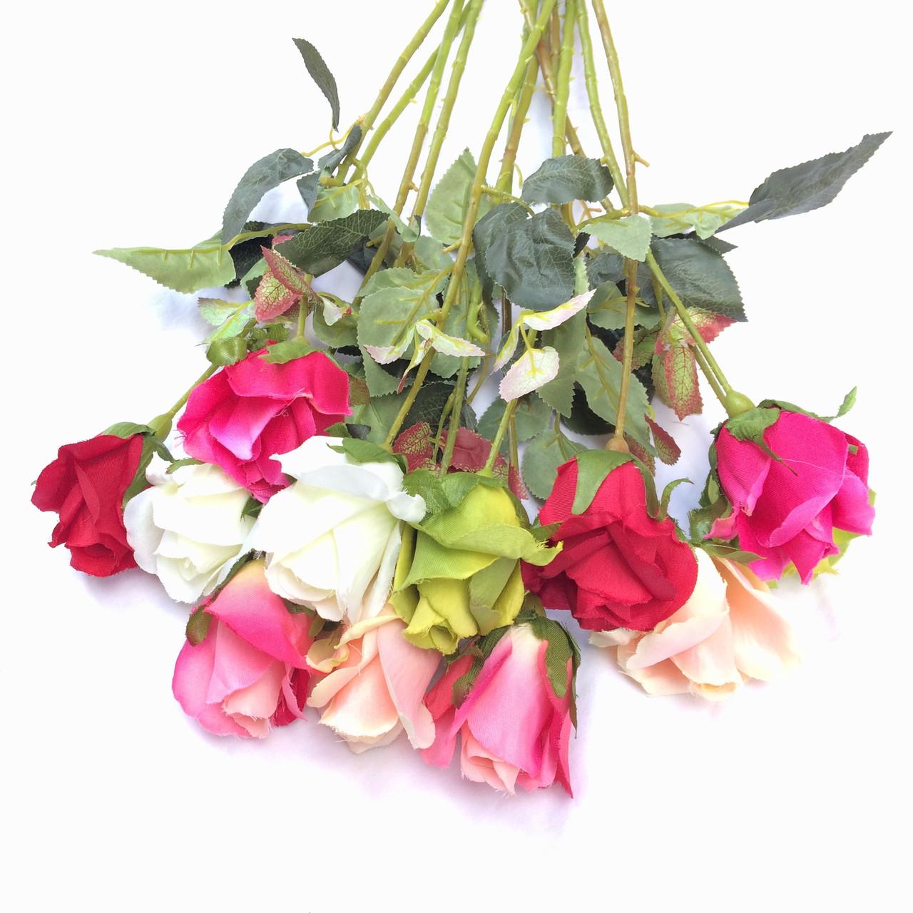 Роза на ножке, 65см (18 шт в уп)