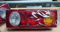 Задній ліхтар стоп 3 секції для вантажівки, причепа Універсальний Asfar, фото 1