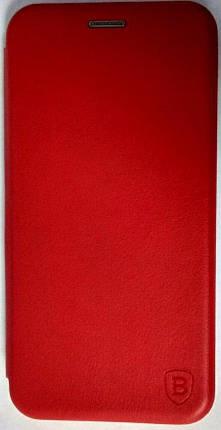 Чехол-книжка '' Classy & Level '' Xiaomi Mi Note 10 / Mi CC9 Pro красный, фото 2