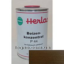 Концентрат красителя P44 Орех  Герлак (Herlac) - для подкрашивания лаков (лютофен), 1л, Германия