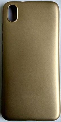 "Силіконовий чохол ""Rock"" для Xiaomi Redmi 7A золотий, фото 2"