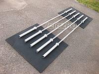 Гриф олимпийский универсальный до 300 кг хромированный рессорно-пружинная сталь