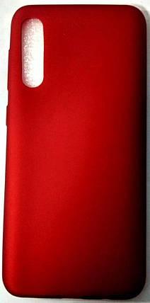 """Силиконовый чехол """"Rock"""" Samsung A507 / А50S красный, фото 2"""