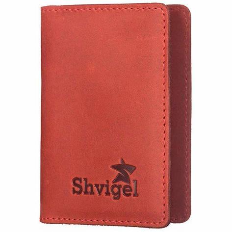 Кредитница SHVIGEL 15305 Красная, Красный, фото 2