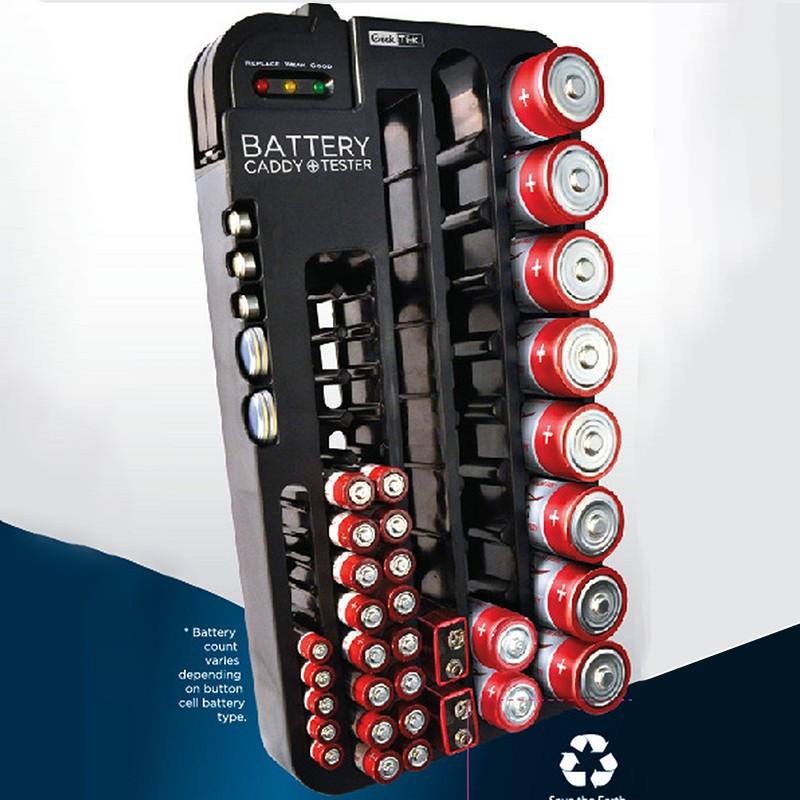 Тримач - чохол для зберігання батарей і акумуляторів з тестом ANNBATTERY №1025