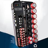 Тримач - чохол для зберігання батарей і акумуляторів з тестом ANNBATTERY №1025, фото 1