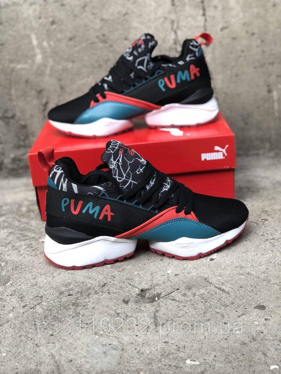 Жіночі кросівки Puma Shantell Martin x Muse Maia Graphic (чорні)