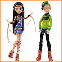 Набор кукол Monster High Дьюс и Клео (Deuce & Cleo) из серии Boo York Монстр Хай