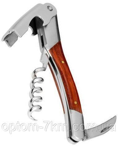 Нож двухступенчатый для официанта 11.5см EM-9689