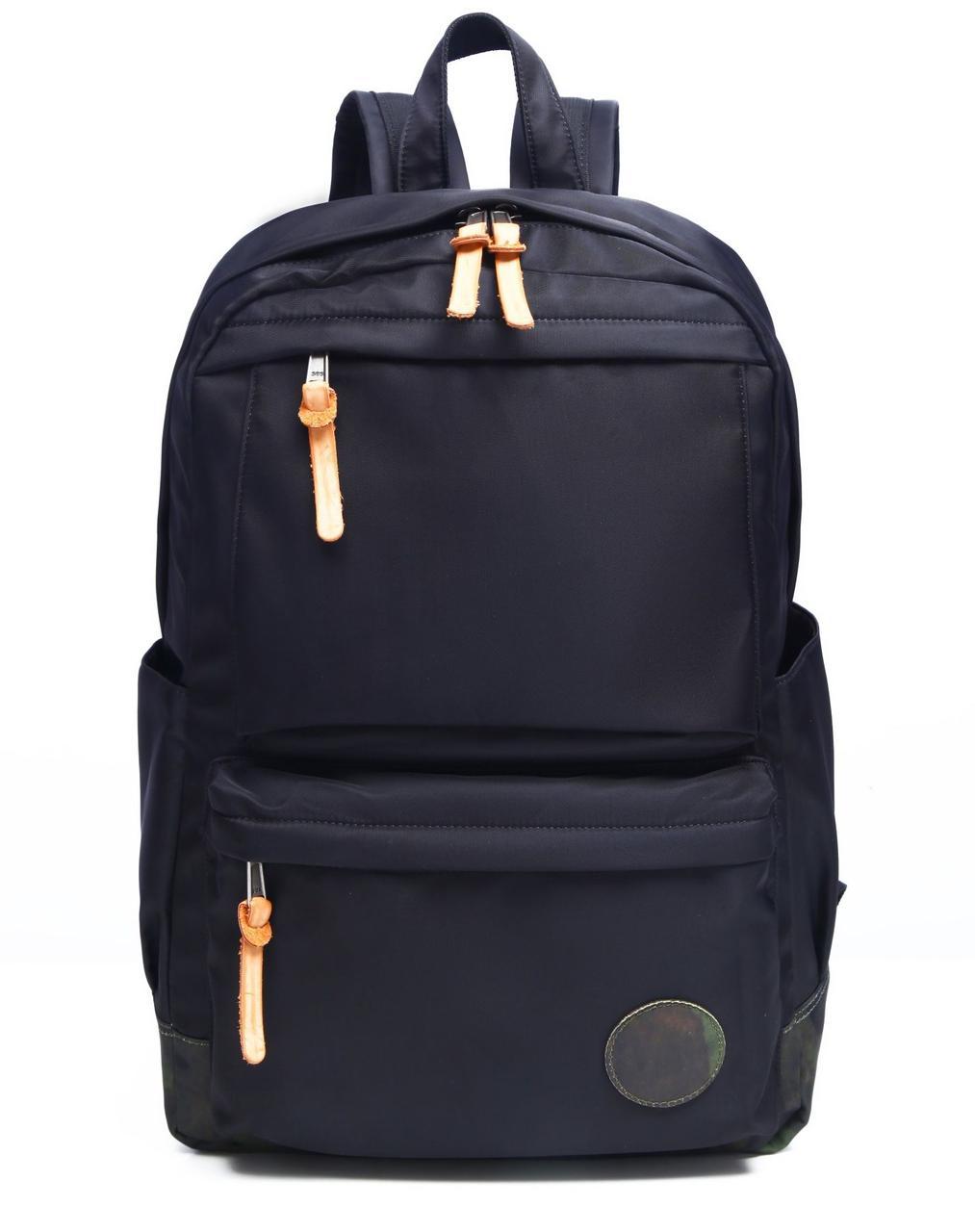 Рюкзак нейлоновый Vintage 14807 Черный, Черный