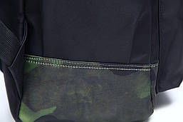 Рюкзак нейлоновый Vintage 14807 Черный, Черный, фото 3