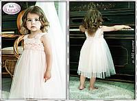 Платье Baby Angel  Персиковый , р. 92 см