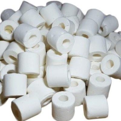 Фильтрующий материал Керамика 850 г в сетке, Биологический наполнитель (цилиндры), Xilong XL-850