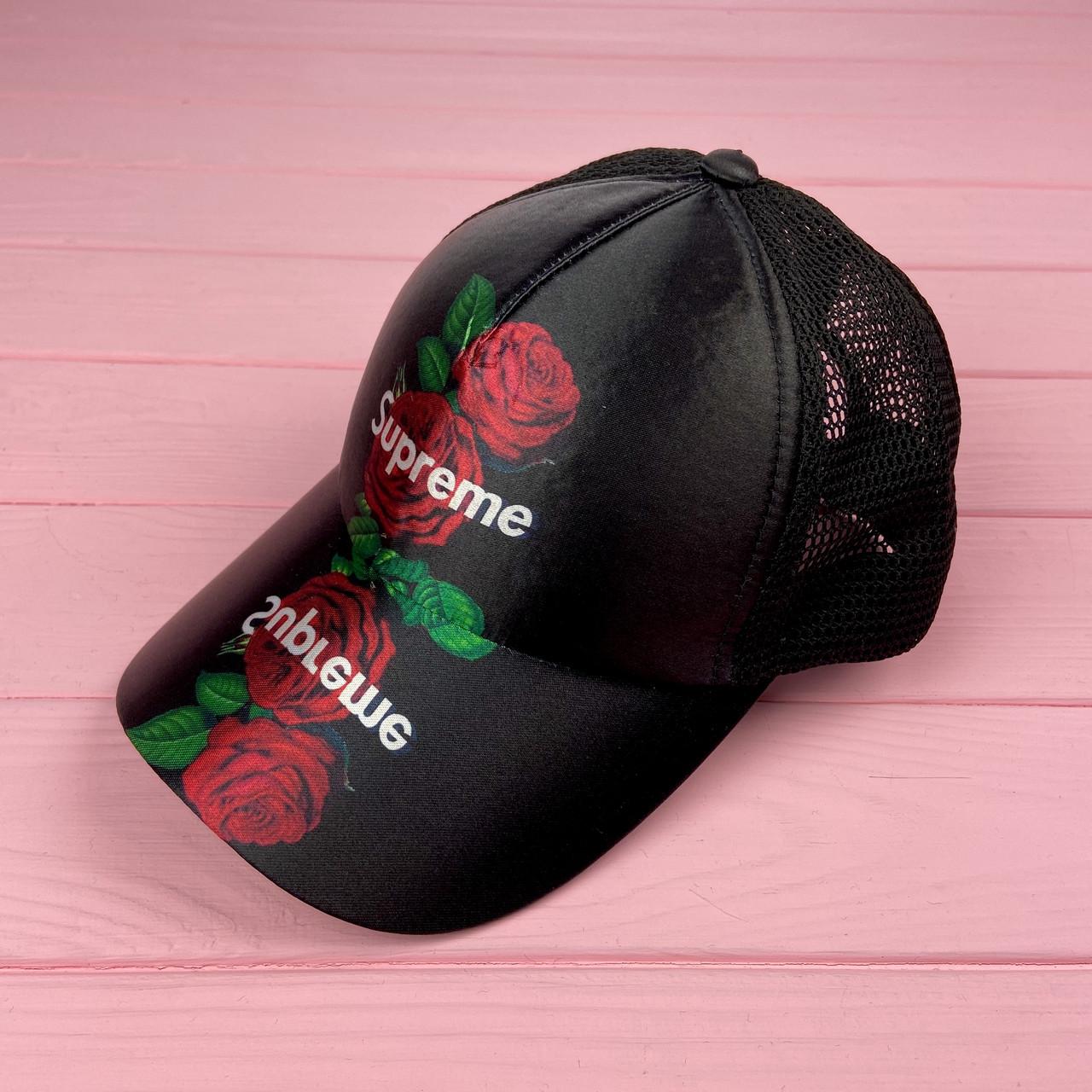 Кепка с сеткой - rose supreme
