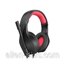 Наушники игровые с микрофоном и подсветкой HAVIT HV-H2025D GAMING, black