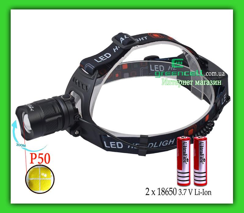 Ліхтарик налобний X Balog BL T32 P50