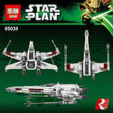 """Конструктор Lepin 05039 """"Винищувач типу X-Wing Ред Файв"""", 1586 дет, фото 9"""