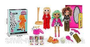 Кукла B 1181  3 вида, в коробке