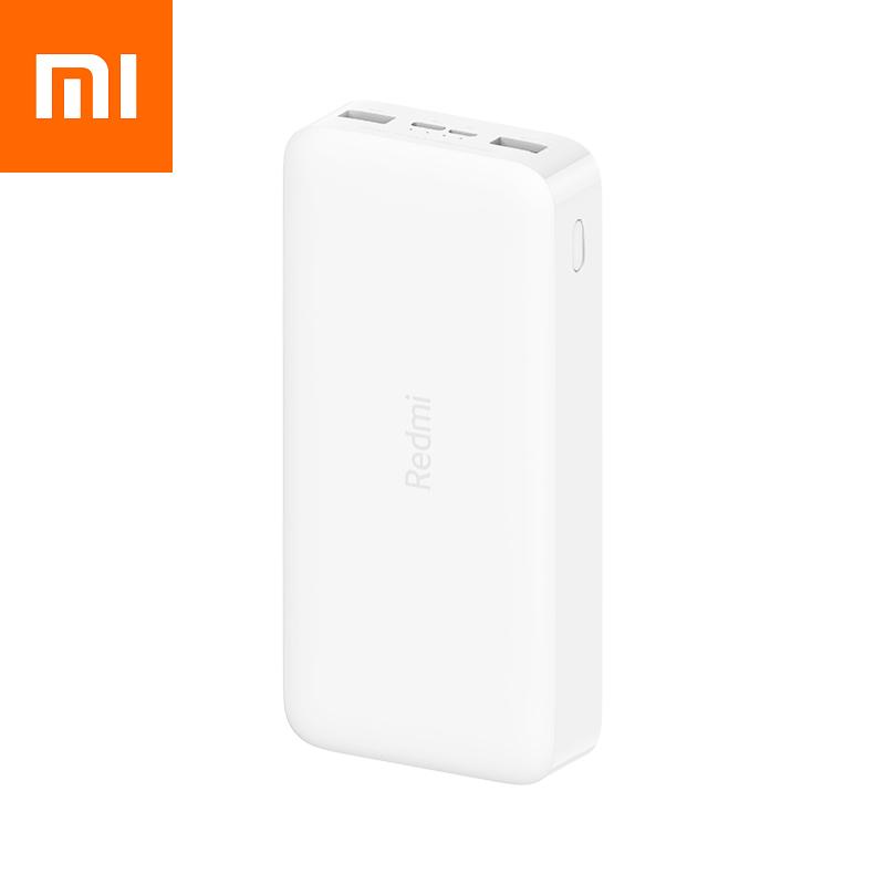 Оригинальный Xiaomi Redmi Power Bank 20000 mAh PB200LZM White (VXN4285/VXN4265) Банк заряда УМБ .